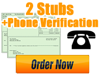 Order 2 Stubs   Phone Verification
