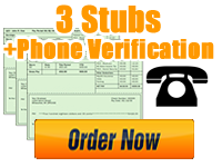 Order 3 Stubs   Phone Verification